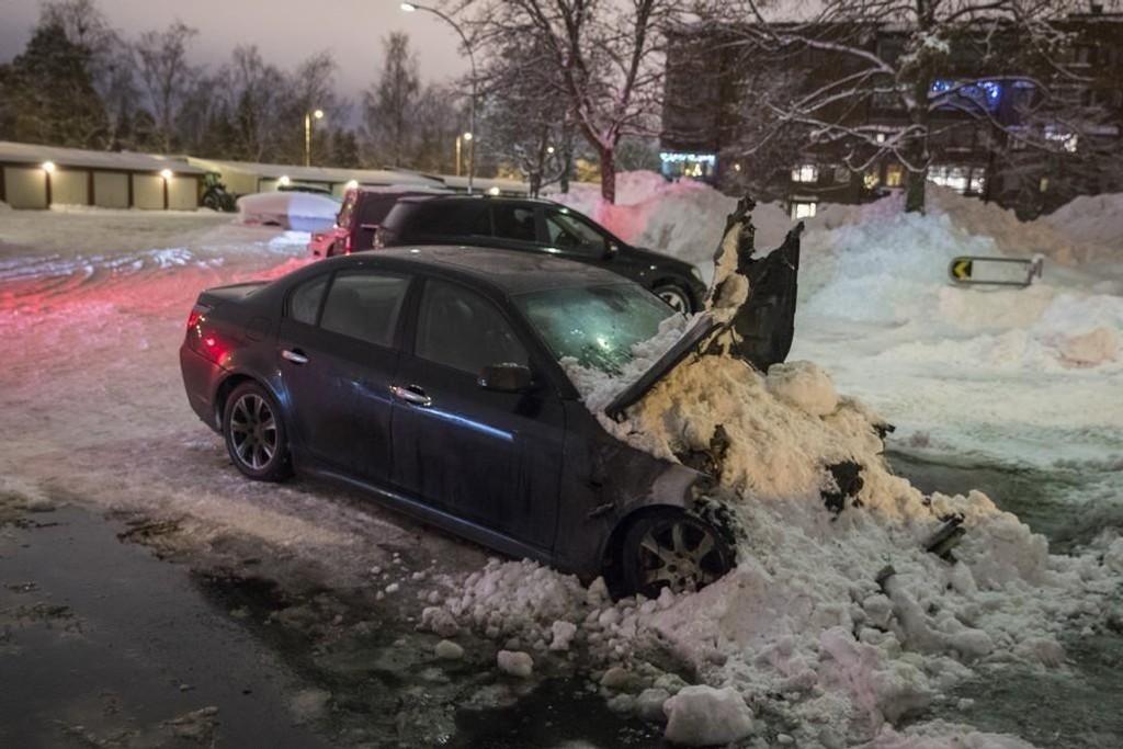 I januar jaktet politiet i Oslo på tenåring etter flere bilbranner.