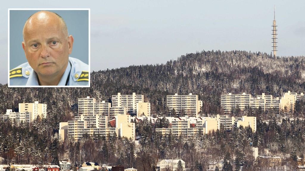 ALVORLIG SITUASJON: John Roger Lund er leder i Enhet øst for Oslo-politiet. Han bekrefter at Romsås-problemene er svært alvorlige.