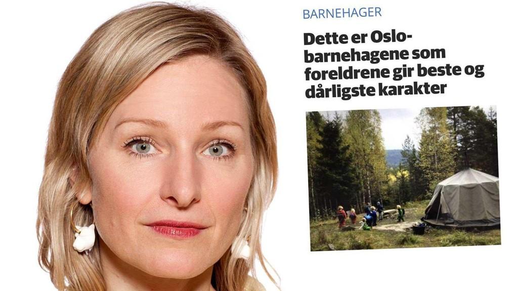 NEDSLÅENDE FOR KOMMUNEN: SVs byråd for oppvekst, Inga Marte Torkildsen, har fått på bordet en undersøkelse som viser at de private barnehagene knuser de kommunale.