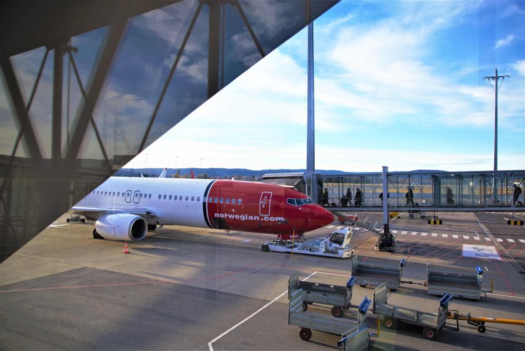 PRIORITY BOARDING: Norwegian har innført et nytt tilbud til sine reisende ved fire norske flyplasser. For fem euro kan man betale for å få komme først om bord i flyet.