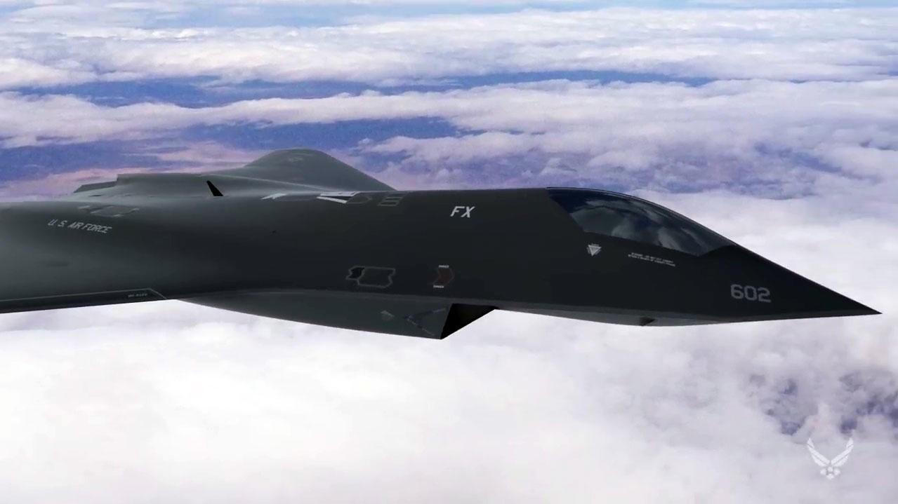 6. GENERASJON KAMPFLY: I en video skisserer det amerikanske flyvåpenet flere av teknologiene og våpensystemene de har planer for i den 6. generasjonen av kampfly. F-35 er 5. generasjons kampfly.