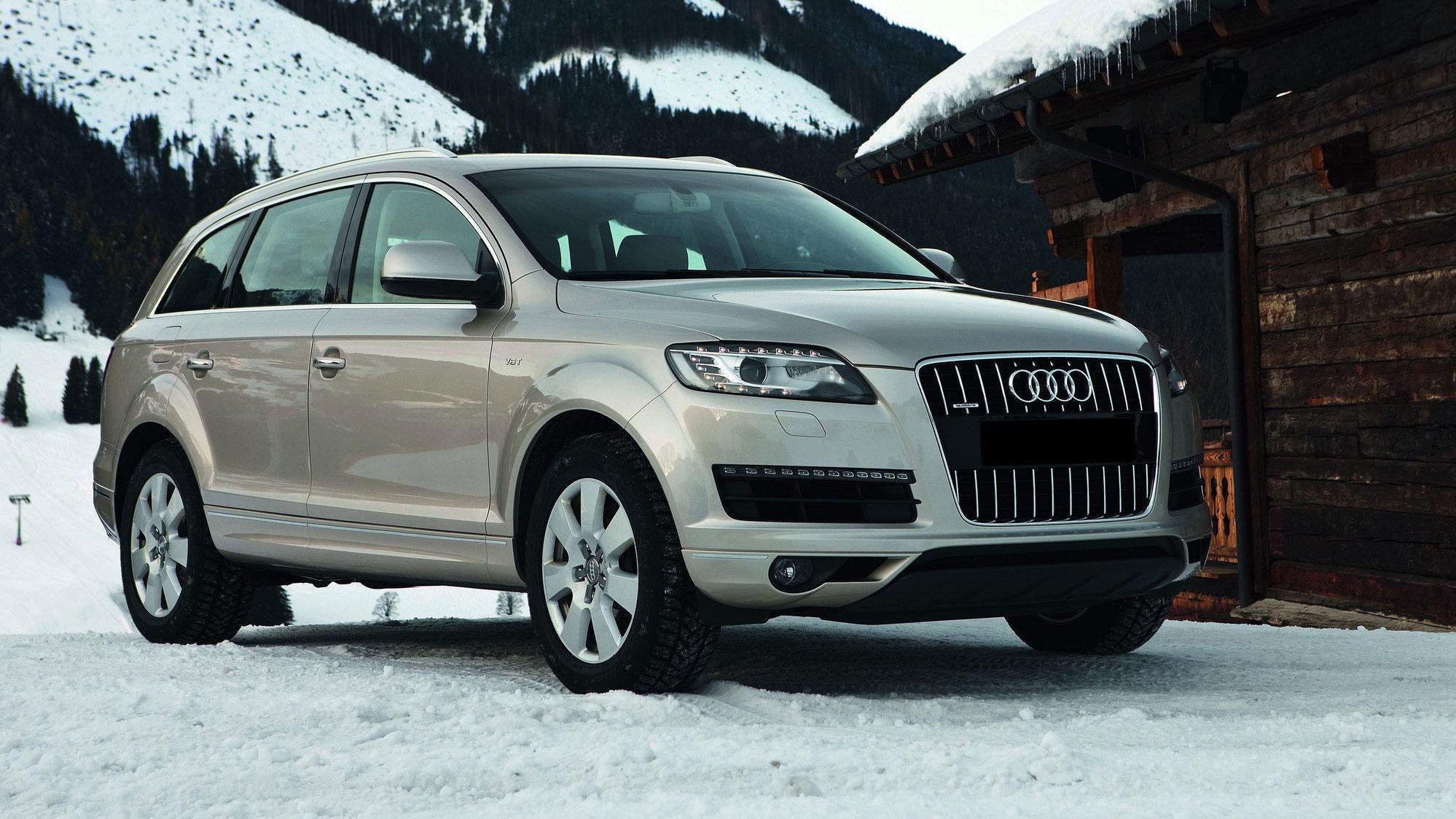 AUDI Q7: Parkerte du en Audi Q7 utenfor hytta for 10 -12 år siden, var du kongen av påskefjellet.