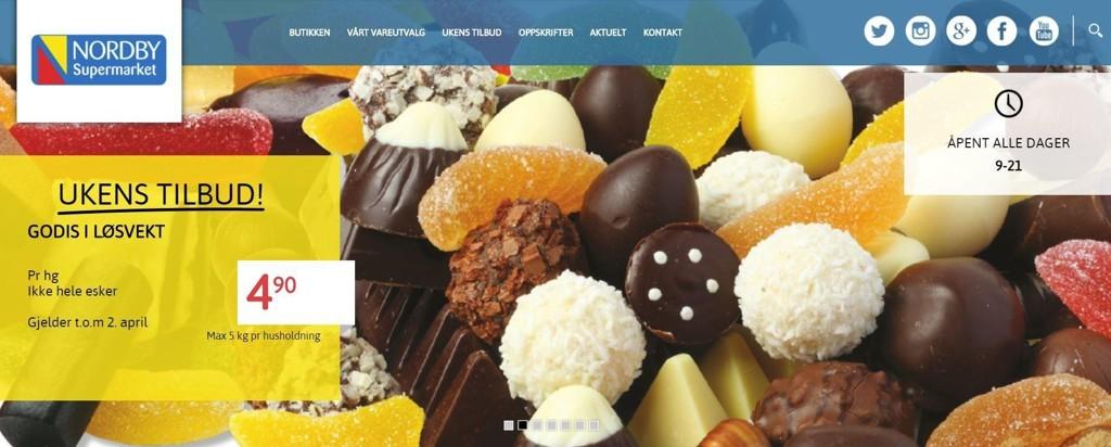 Bestille godteri fra sverige
