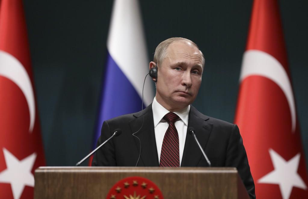 Russlands president Vladimir Putin. Foto: AP / NTB scanpix.