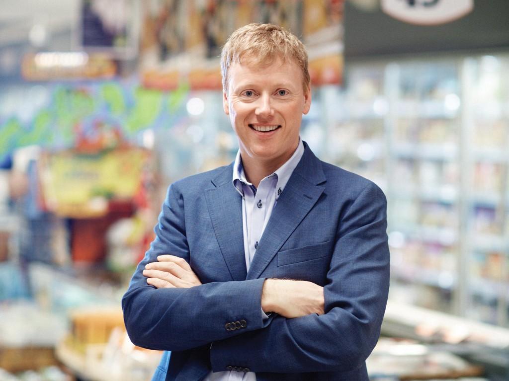 KJEDESJEF: Vegard Kjuus er sjef for Meny.