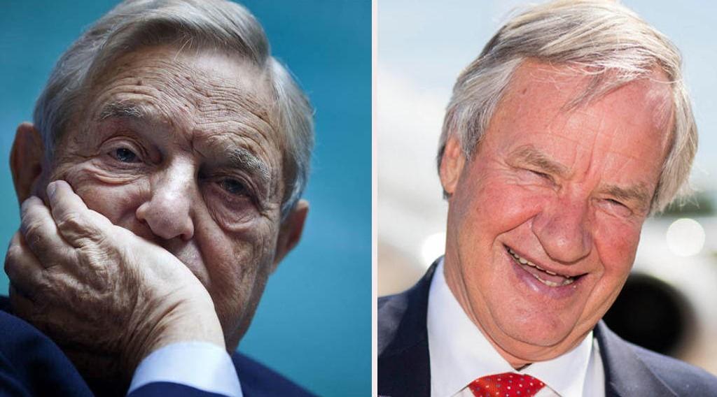 THE BIG SHORT: George Soros (til venstre) har hatt en dårligere dag på børsen enn Bjørn Kjos.