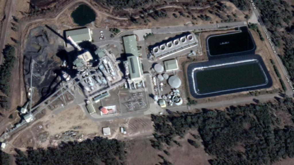 Redbank Power Plant omtrent 20 mil nord for Sydney skal åpnes igjen for å gi billig strøm til selskap som skal grave etter Bitcoin.