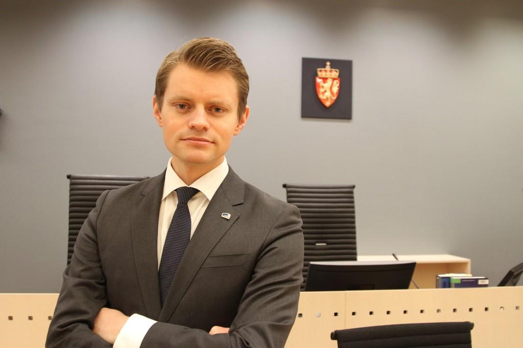 Peter Frølich, stortingsrepresentant for Høyre og justispolitisk talsmann. Farid Ighoubah / Nettavisen
