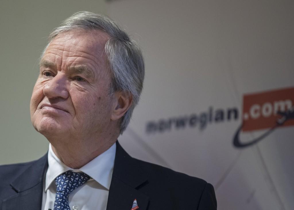 NORWEGIAN: Konsernsjef Bjørn Kjos sier han aldri har vurdert å selge Norwegian fordi prisen alltid har vært for billig.