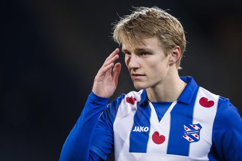 Martin Ødegaards utlånsavtale med Heerenveen nærmer seg slutten. Kanskje blir det en retur til nederlandsk toppfotball neste sesong. Foto: Jon Olav Nesvold / NTB scanpix