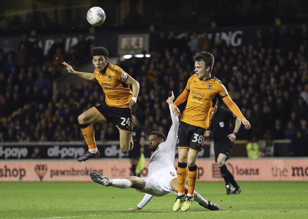 Wolverhampton rykker opp til Premier League. Foto: Nigel French/PA via AP/NTB scanpix