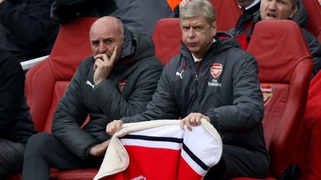 Arsene Wenger under forrige helgs seriekamp hjemme mot Southampton.