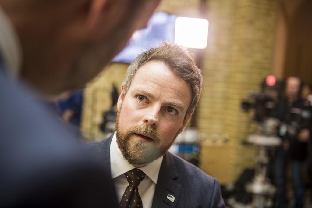 Næringsminister Torbjørn Røe Isaksen