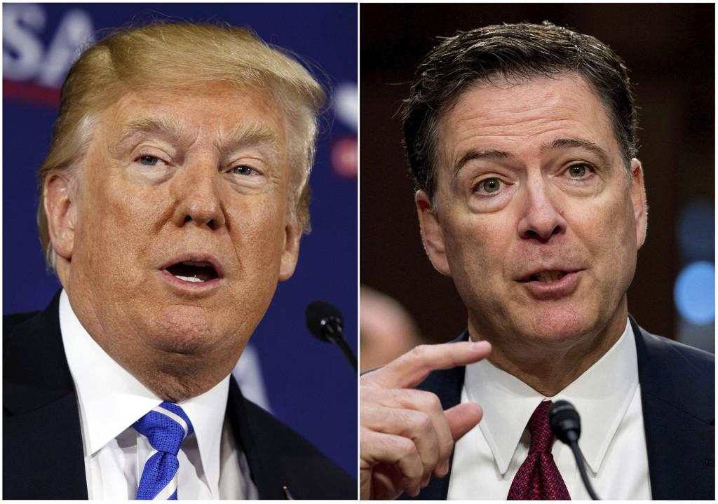 I et TV-intervju i forbindelse med sin nye bok serverer tidligere FBI-sjef James Comey kraftig kost i retning president Donald Trump.