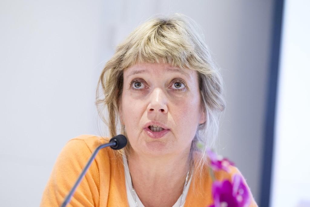 Generalsekretær Ann-Magrit Austenå i NOAS sier at 67 prosent av dem som søkte asyl i Norge i fjor, fikk opphold. Foto: Håkon Mosvold Larsen / NTB scanpix