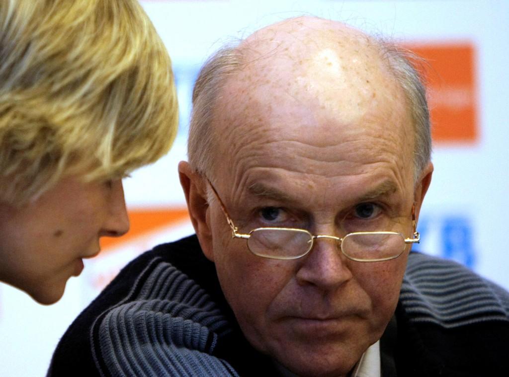 Anders Besseberg avviser at han har gjort noe galt. Mandag opplyser Østerrikes svar på Økokrim at 12 personer er mistenkt i den såkalte IBU-saken. Foto: AP Photo/ Lee Jin-man/NTB scanpix.