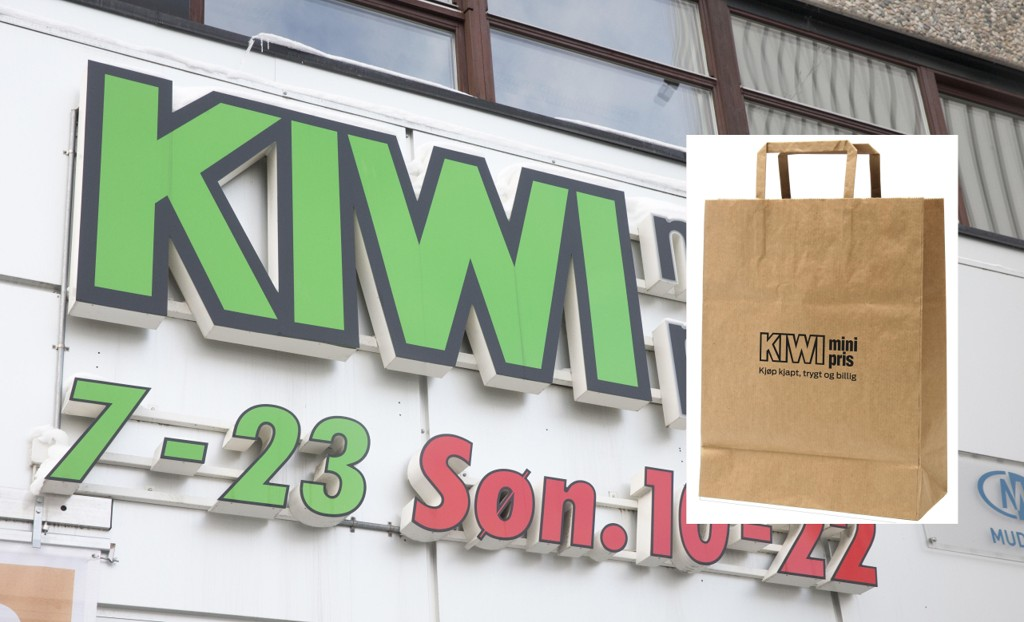 NY LANSERING: Kiwi lanserer nye papirposer i butikkene.