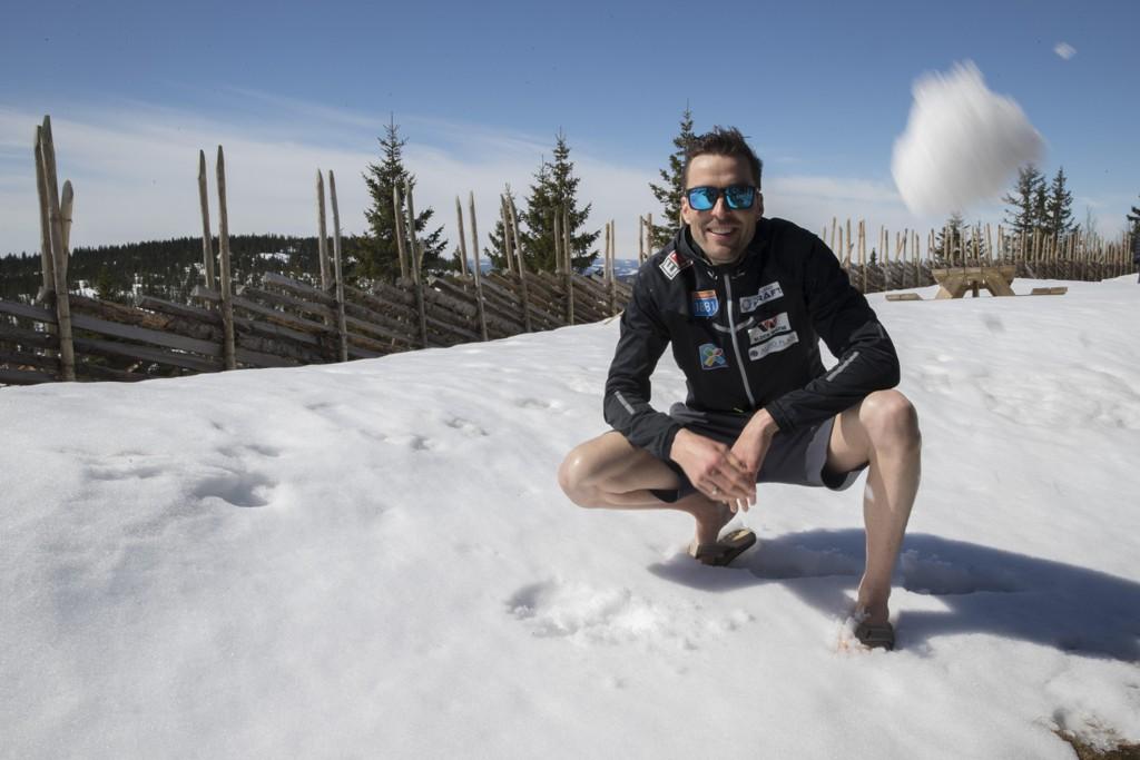 Magnus Moan er lettet etter et vellykket inngrep i hælen. Foto: Vidar Ruud / NTB scanpix