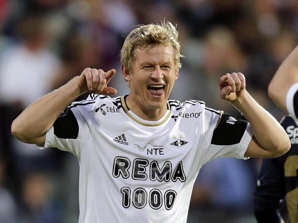 Steffen Iversen herjet i mange år for Rosenborg. Nå kan den tidligere storscoreren sendte gamleklubben ut som trener i Trygg/Lade. Foto: Lise Åserud / NTB scanpix