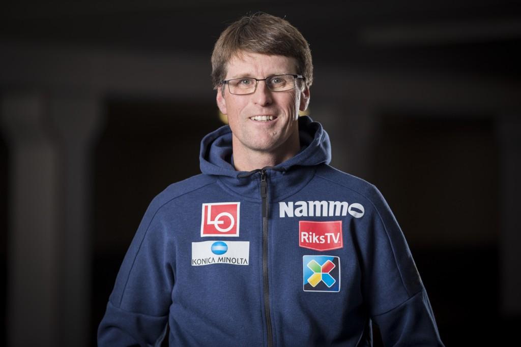 Arrangementssjef for hopplandslaget Ståle Villumstad frykter ikke for Raw Air kommende vinter. Foto: Heiko Junge / NTB scanpix