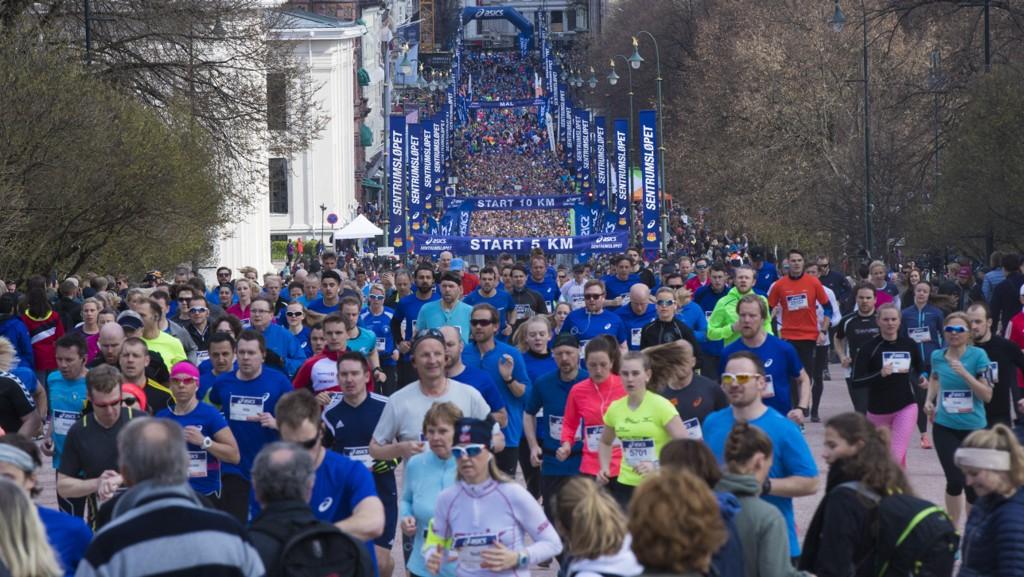 DYRT: Barn som skal løpe fem kilometer under Sentrumsløpet må betale over 600 kroner for å delta.
