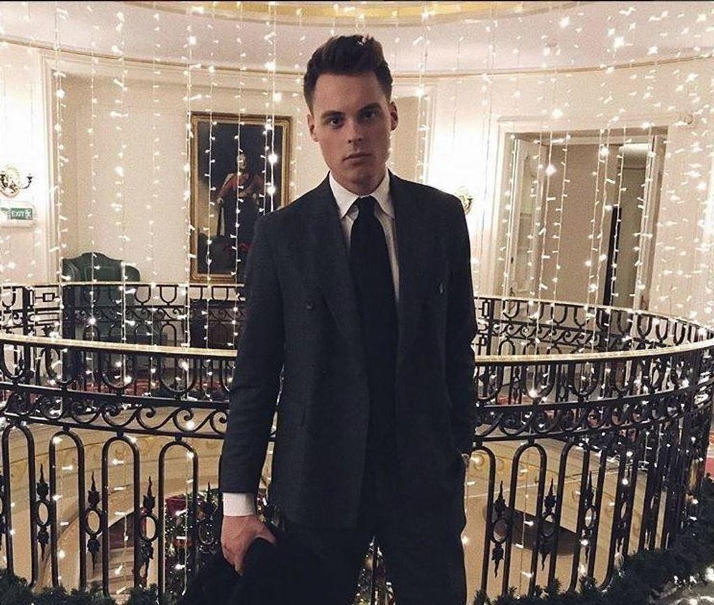 BLIR STADIG RIKERE: Gustav Magnar Witzøe (25) er Norges rikeste mann. Han gir sjelden intervjuer, men er svært aktiv på Instagram.