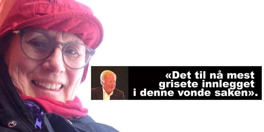HARD KRITIKK: Tidligere redaktør i Vårt Land, Jon Magne Lund, gir flengende kritikk til KrF-politiker Randi Gran Tørreng.