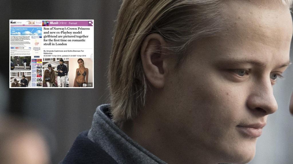 BOSATT I LONDON: Marius Borg Høiby og kjæresten Juliane Snekkestad har bosatt seg i London. Britisk tabloidpresse har en helt annen presseetisk tradisjon enn Norge, mener norske eksperter.