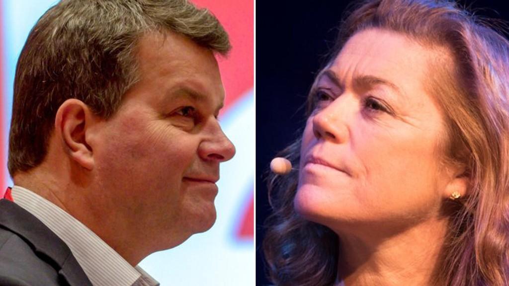 LO-leder Hans-Christian Gabrielsen og NHO-direktør Kristin Skogen Lund sender sine advokater i retten for å slåss om de virkelig store prinsippene denne våren.