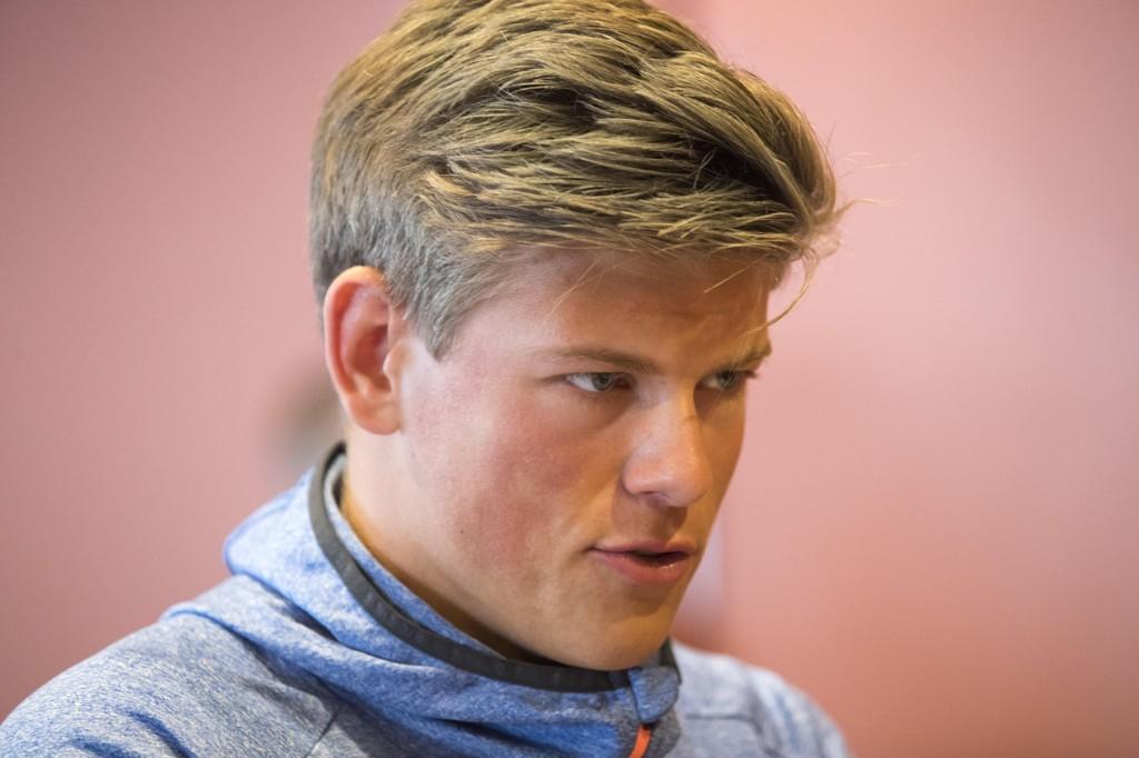 KJÆRESTE: Johannes Høsflot Klæbo har funnet lykken medPernille Døsvik fra Trondheim.