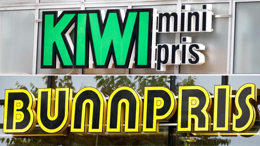 TOPP OG BUNN: Kiwi er best likt blant dagligvarekjedene, mens Bunnpris er minst likt.