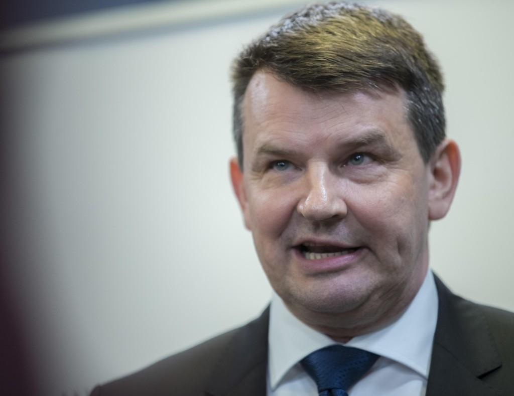 VIL STOPPE INNVANDRING TIL OSLO: Justisminister Tor Mikkel Wara sier at problemene med kriminalitet i Oslo skyldes innvandring.