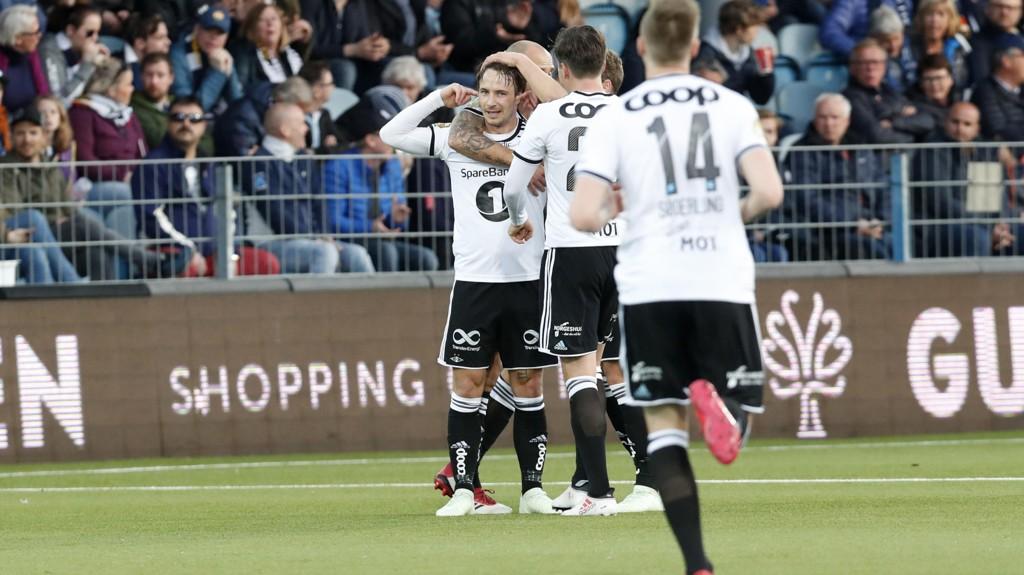 RBK tok en viktig seier mot Strømsgodset i Drammen sist helg. Foto: Terje Bendiksby / NTB scanpix