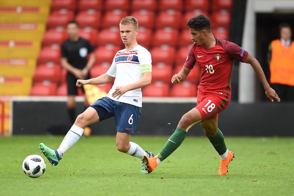 0-0: Thomas Rekdal og Norges G17-gutter spilte uavgjort mot Portugal fredag.
