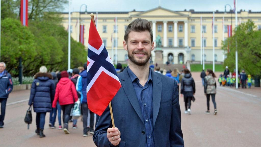 KOMMUNIST ELLER IKKE: Rødt-leder Bjørnar Moxnes var leder for 17. mai-komiteen i Oslo.