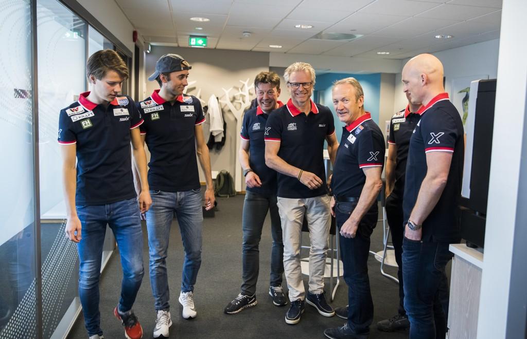 KOMBINERT , SPORT Kombinert Norge forhandler om hovedsponsor