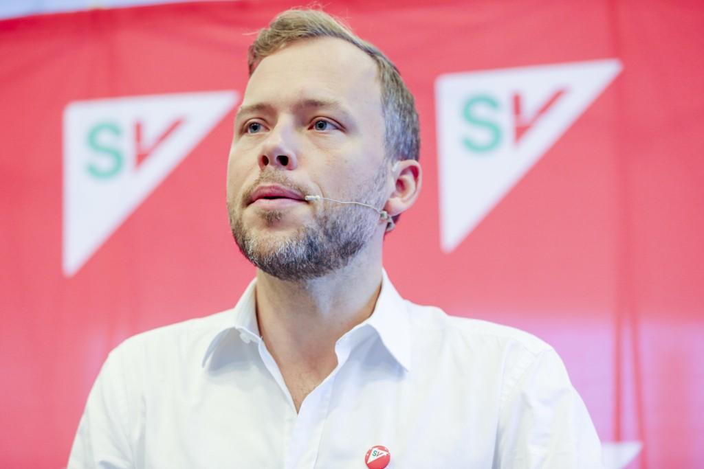 FAVORITT: SV-leder Audun Lysbakken har størst oppslutning blant norske journalister.
