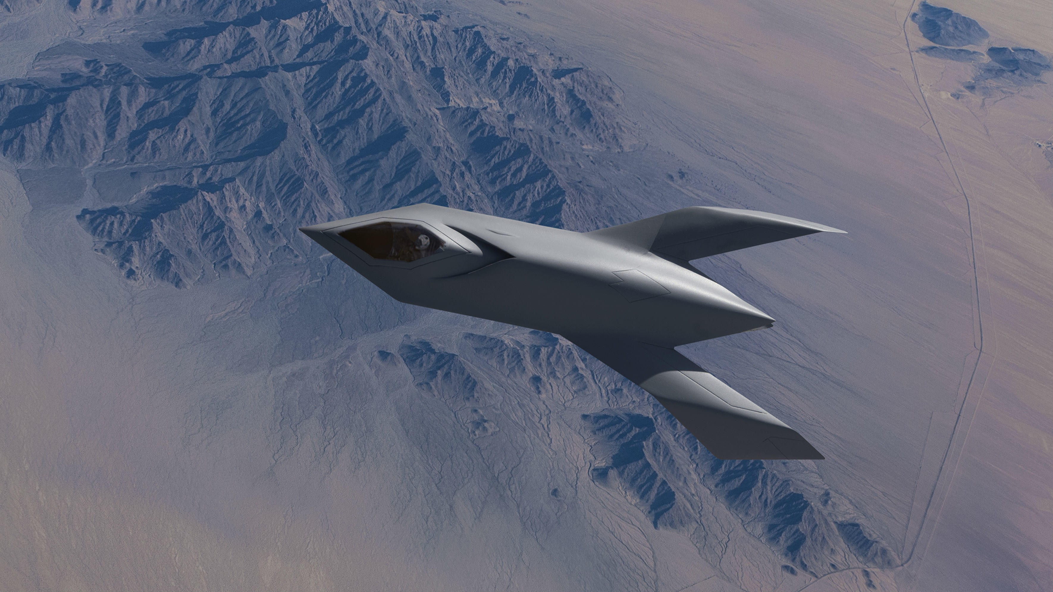 BIRD OF PREY: Boeings femtidsfly var i en årrekke unndratt offentligheten, men gjennomførte 38 testflygninger over Area 51. Da er det ikke rart det begynner å svirre rykter om UFO-er.