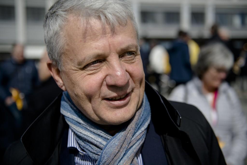 Tidligere KrF-leder og helseminister Dagfinn Høybråten mener det står respekt av politikere som Lan Marie Berg. Foto: OLE MARTIN WOLD / NTB scanpix