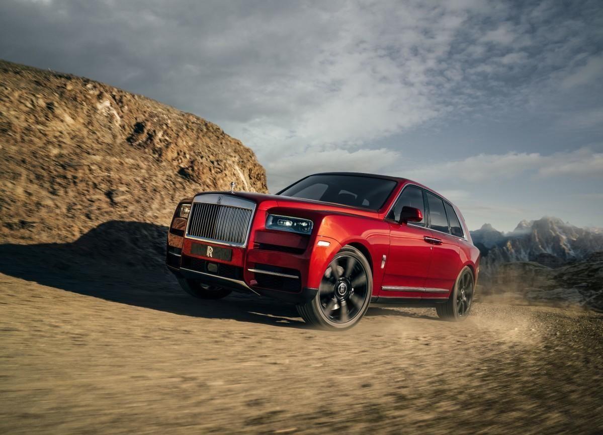 VILLMARKS-ROLLS: Rolls-Royce har ikke spart på noe og har tydeligvis enorme forventninger til SUVen Cullinan.