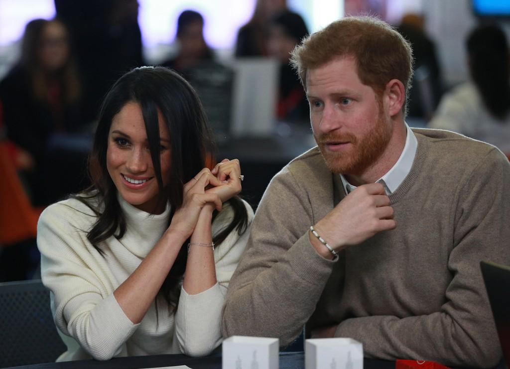RAUS: Når Meghan Markle gifter seg med prins Harry, tillater hun at også hans to ekskjærester får delta i bryllupet.