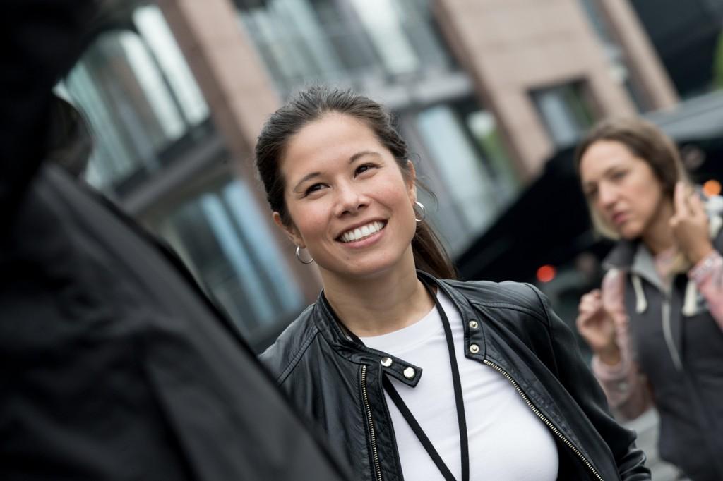 SATSER: Lan Marie Nguyen Berg i Miljøpartiet De Grønne har ingen planer om å gi seg.