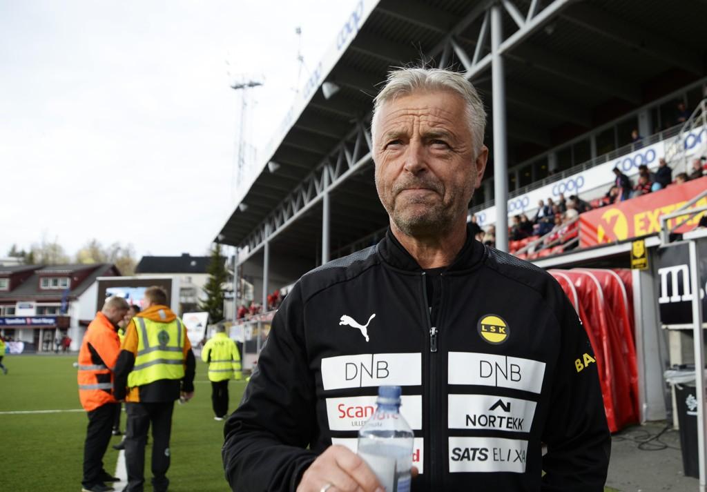 SVARER På KRITIKKEN: Lillestrøm-trener Arne Erlandsen.