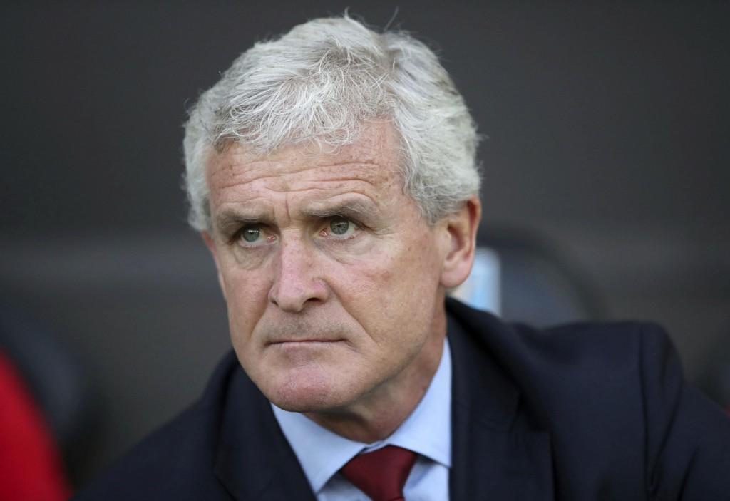 Southampton-manager Mark Hughes er interessert i å fortsette i klubben også neste sesong. Foot: Nick Potts / PA via AP / NTB scanpix