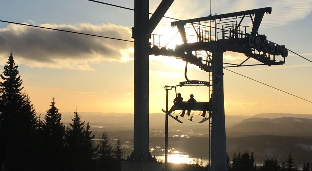 REKORD: Alpintanlegget på Tryvann i Oslo er blant de som har hatt en svært god sesong. Her fra Wyllerløypa.