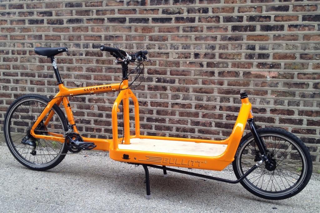 MDG-politikeren syklet i alkoholpåvirket tilstand på en sykkel av denne typen, en Bullitt Clockwork, da han veltet med datteren på lasteplanet.