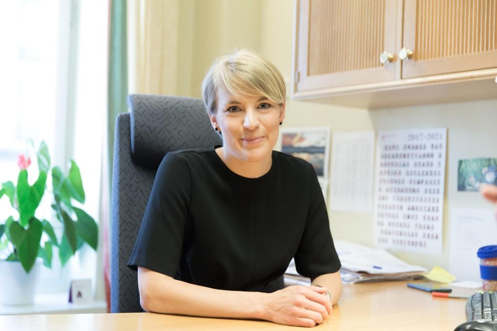 SKUFFET: SVs finanspolitiske talsperson, Kari Elisabeth Kaski, er skuffet over regjeringens reviderte nasjonalbudsjett.