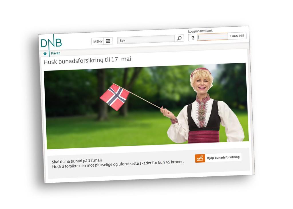 POPULÆRT TILBUD: Men mange nordmenn har kanskje allerede en bunadsforsikring.