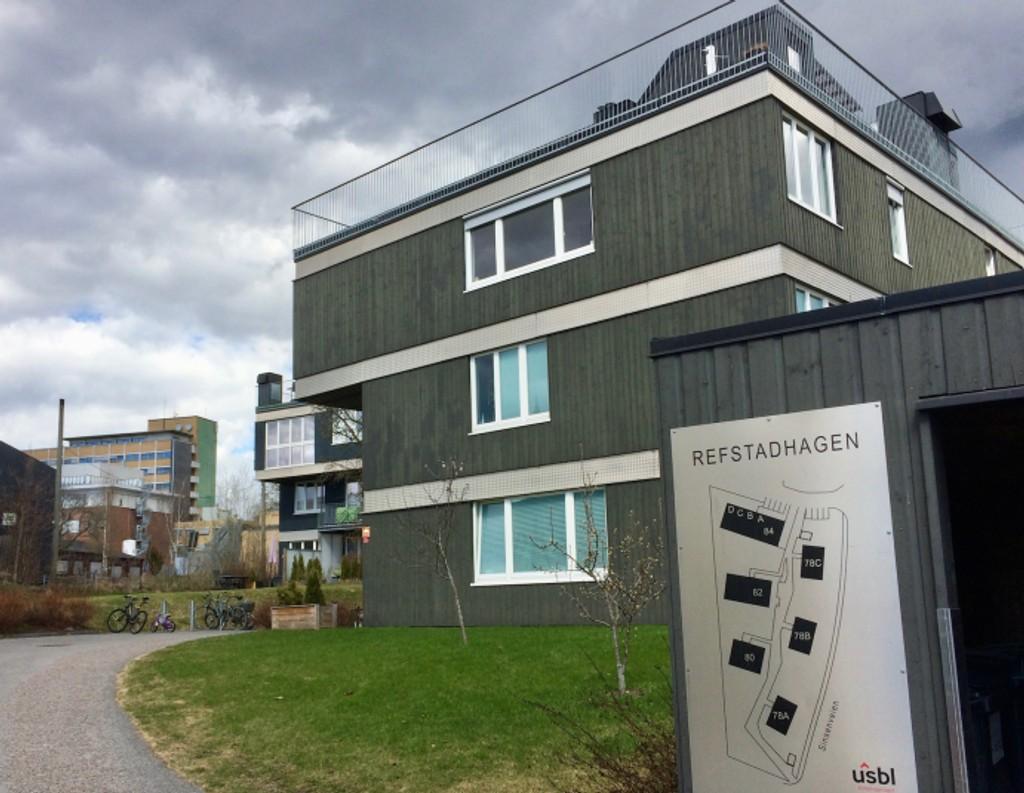 Styret i borettslaget mener reguleringen gir beboerne en følelse av at boligene kun er midlertidige.