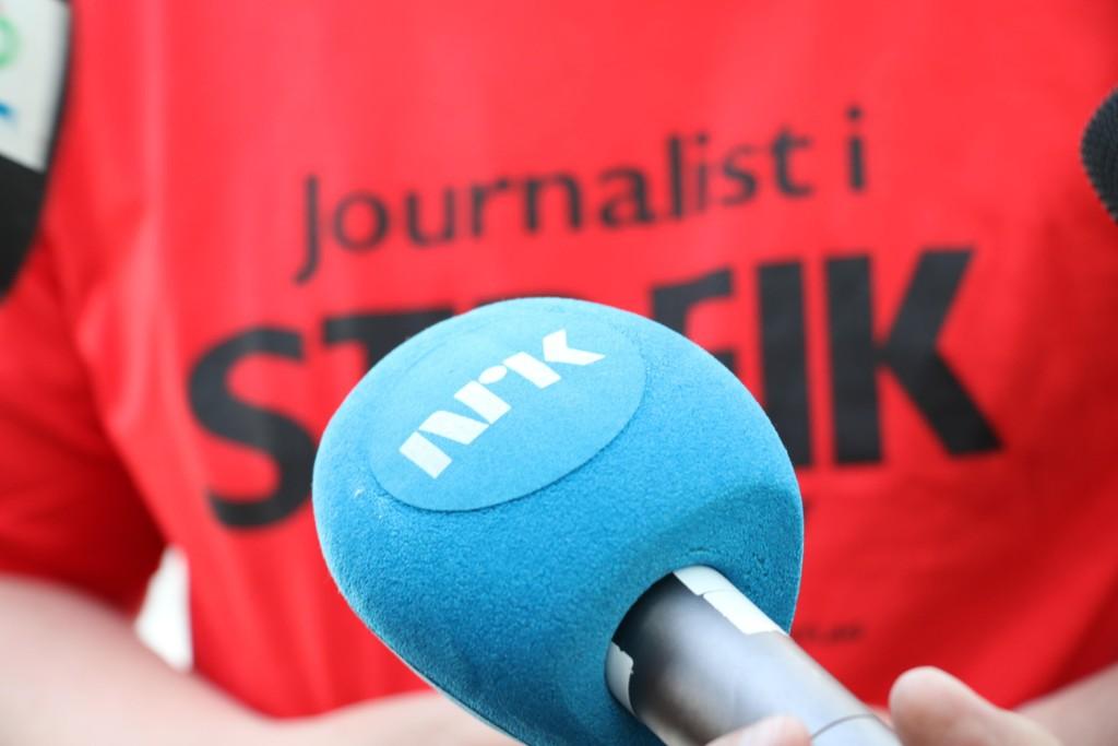 NRK går ut i streik.